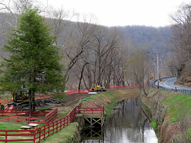 Towpath Restoration at Groundhog Lock