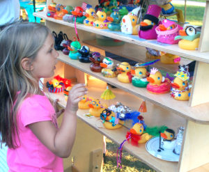 So many ducks to admire at the Delaware Canal Festival! Photo credit: The Advance of Bucks County