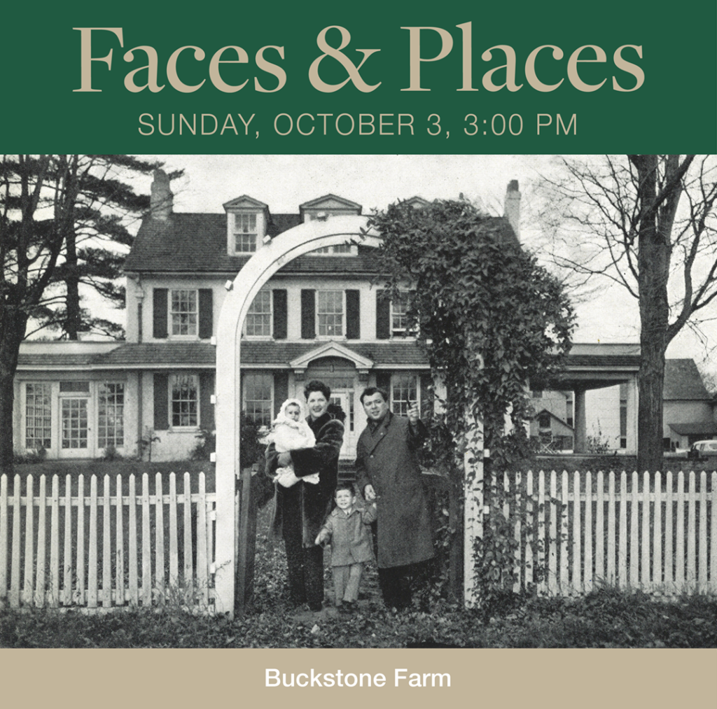 Faces and Places on October 3