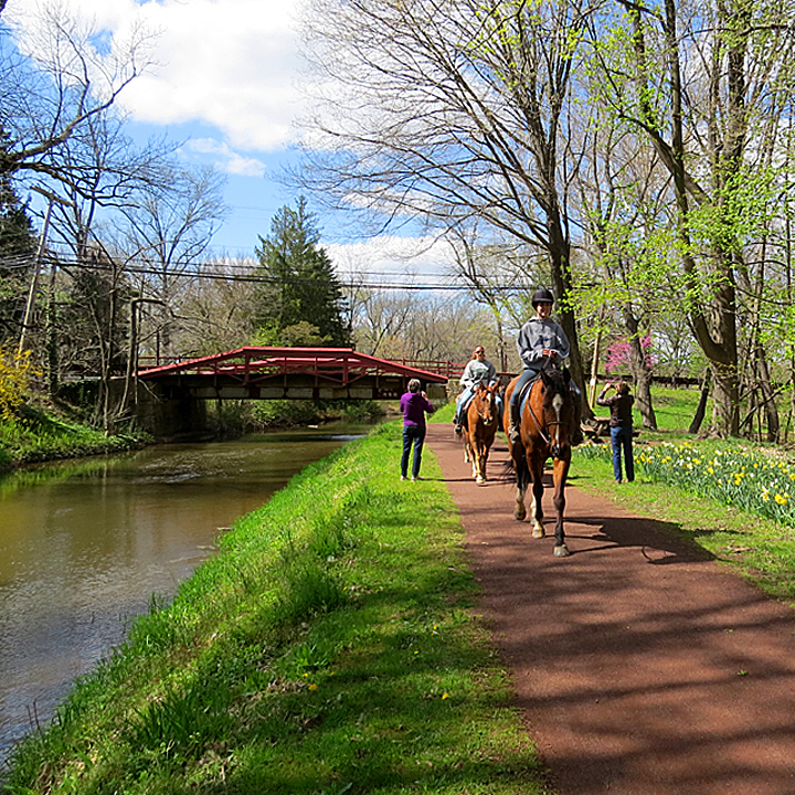 horseback riding washington crossing