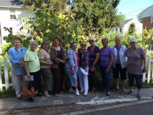 The Dames of Rocksville Questers visit the Locktender's House
