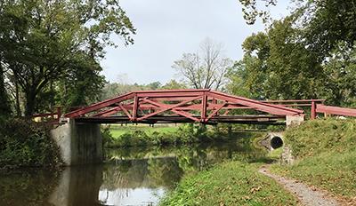 Thompson-Neely Bridge painting