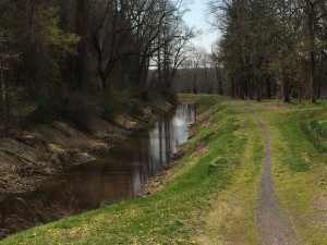 The water level to the north of the Virginia Forrest Recreation Area will rise.