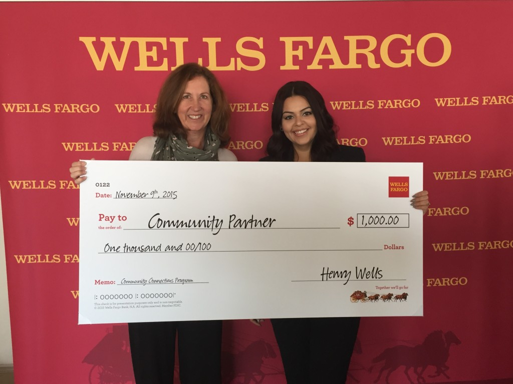 Wells Fargo contribution