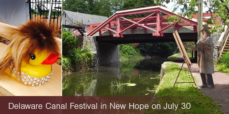 delaware canal festival new hope