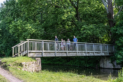 mary yardley footbridge