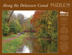 Picture of Along the Delaware Canal Puzzle