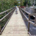 New walkway on the Tinicum Aqueduct